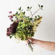 Hydrangea & Peony Faux Bouquet