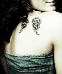 If I ever got a tattoo it would be just like this but in the centre of my upper back xx