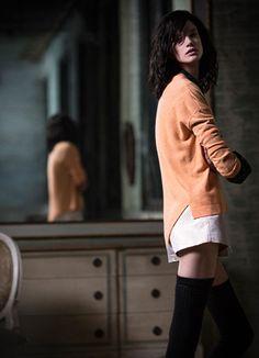 Cashmere Paneled U Neck - White + Warren White And Warren, Fall Winter 2014, Cashmere, My Style, Sweaters, Dresses, Fashion, Vestidos, Moda