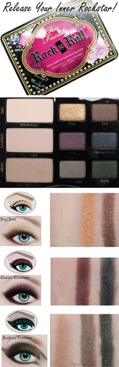 Too Faced Rock n' Roll Eyeshadow Palette Review