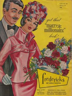 1964 Frederick's of Hollywood Catalog-seriously everything is so gorgeous.