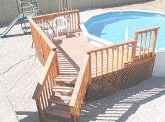 Image detail for -Above Ground Pool Deck | Pool Fill In | Pool Removal Review and ...