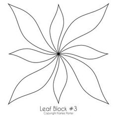 Blocks – Page 6 – Karlee Porter London Flying bells? Free Motion Quilting, Quilting Tips, Quilting Projects, Quilting Designs, Leaf Template, Owl Templates, Crown Template, Applique Templates, Flower Template