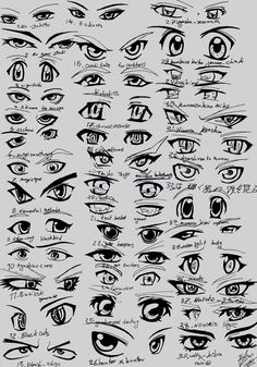 male anime eyes - Google Search