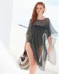 0be9e3746 Lightweight Knit Cover-Up  style Trajes De Baño