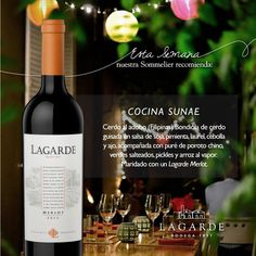 Bodega Lagarde (@BodegaLagarde) | Twitter Wine, Twitter, Food, Soy Sauce, Crock Pot, Stir Fry, Wine Cellars, Meal, Eten