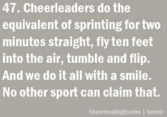no other sport can claim that (: