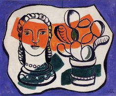 Fernand Leger. See The Virtual Artist gallery: www.theartistobjective.com/gallery/index.html