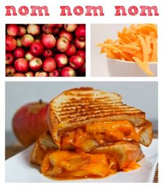 Apple Grilled Cheese!