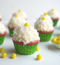 Coconut Overload Cupcakes with Coconut Cream Cheese Frosting - Inspired Gathering