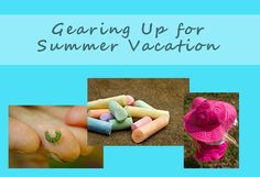 If you are a parent, home schooling or not, these are some great trips for prepping for summer