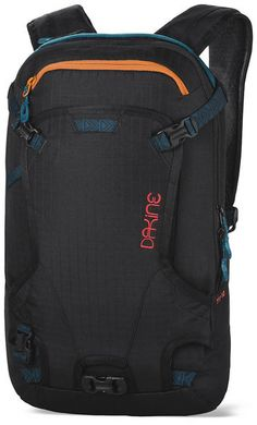 DAKINE WOMENS HELI PACK 12L BACKPACK 2016 This is the new and updated womens version of this slim ski / snowboard 12L Heli Pack backpack. For 2016 Dakine has increased the capacity from 11L to 12L and redesigned the shape giving you a more slim and sleek design. With the Heli pack 12L backpack you can carry your snowboard or skis using the vertical snowboard carry or the cable ski carry system. #dakine #womenshelipack12Lbackpack2016 #colourblackripstop