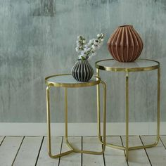 Jacques Set of 2 Side Tables