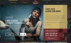 Website Of The Day 6 April 2014 Gammel Dansk by TBWA\Denmark http://www.cssdesignawards.com/sites/gammel-dansk/24539