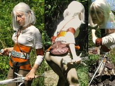 My leather hand-stitched Ciri cosplay from the Witcher 3! #TheWitcher3 #PS4 #WILDHUNT #PS4share #games #gaming #TheWitcher #TheWitcher3WildHunt