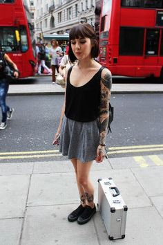 Street Style Londres, les anglaises ont le look                                                                                                                                                                                 More