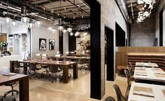 NeueHouse in Hollywood, LA by Rockwell Group in collaboration with NeueHouse Studio
