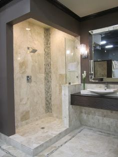 The Tile Shop: Design by Kirsty: Edison, NJ - another idea for our master bath