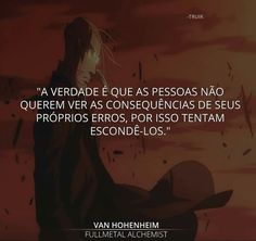 Ғяαѕєѕ... Fullmetal Alchemist, My Heart Hurts, It Hurts, Tired Of Being Alone, Dark Thoughts, Feeling Lonely, Anime, Some Words, Sad