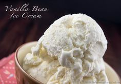 Vanilla Bean Ice Cream… and a giveaway « The Repressed Pastry Chef