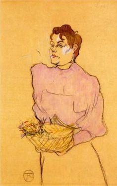 Henri de Toulouse-Lautrec - The Flower Seller 1894