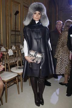 Front row at Giambattista Valli Haute Couture fashion show spring/summer 2013 in Paris