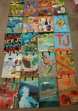Trader Joe's Collection reusable Shopping Totes grocery Bags 20 Regions NWT