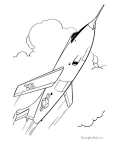 Memorial Day Coloring Pages - Air Force Pilot Coloring Pages ...