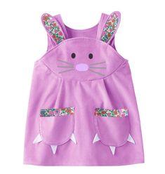 Bunny spielen Dress soft Lavendel Cord mit von wildthingsdresses