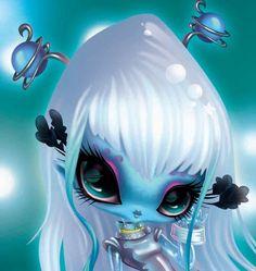 Baby Doll Eyes, Novi Stars, Digital Art Fantasy, Beautiful Fairies, Star Wars, Fantastic Art, Print Artist, Whimsical Art, Cartoon Art