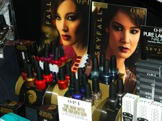 OPI at CosmoProf 2012: The name is Bond. James Bond.