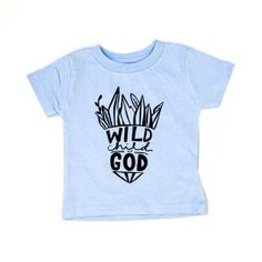 Wild Child Of God Kids Tee- www.freecitizenco.com