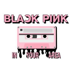 Blackpink in Your Area Cassette Tape Sticker. Blackpink in Your Area is the first Japanese studio album by Blackpink girl group. Kpop Stickers, Korean Stickers, K Pop, Bp Logo, Kpop Logos, Blackpink Poster, Cute Canvas, Tumblr Wallpaper, Logo Sticker