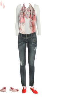 WetSeal.com Runway Outfit:  Pinks and Florals by Define U. Outfit