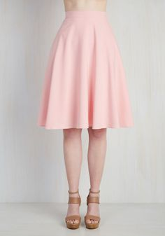 a863a319929 Just this Sway Skirt in Carnation. You definitely have that swing when you  step out. ModCloth
