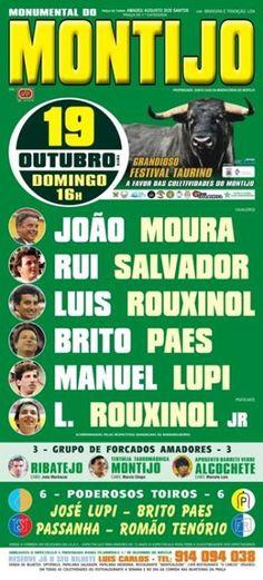 Pátio de Quadrilhas: Cartaz do Festival no Montijo - 19 de Outubro de 2...