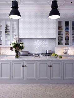 Image result for modern hamptons kitchen