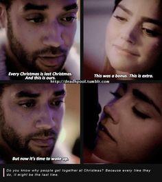 Danny and Clara ♥♥ Last Christmas, Doctor Who Season 8