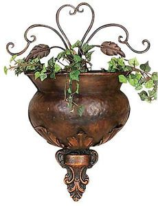 Metal Wall Sconces For Plants : 1000+ images about Metal Wall Decor on Pinterest Metal wall art, Metal wall decor and Metal walls