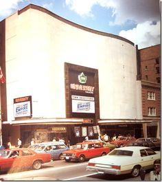 I saw Star Wars & The Empire Strikes Back at this wonderful old theatre (tragically now a Pottery *Snobbery* Barn or something similar I think) Toronto Architecture, I See Stars, Toronto Ontario Canada, The Empire Strikes Back, Vintage Movies, Movie Theater, The Neighbourhood, Nostalgia, University
