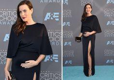 Modelos de vestido de festa para grávidas