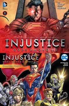 injustice-gods-among-us-year-one-five-2013-2016-complete