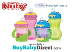 Flower Child & iMonster #Nuby cups are now available to purchase at #BuyBabyDirect!  MORE CUPS!!  #nubyusa