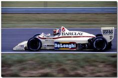 Gerhard Berger Arrows BMW A8 F1 1985 British GP Silverstone