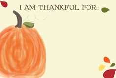 Thanksgiving Memory Card Printable- free