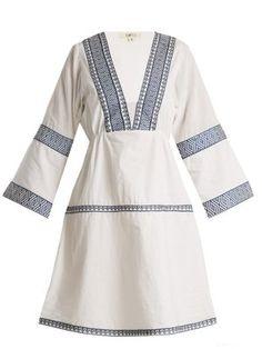 Istanbul embroidered cotton dress   Daft   MATCHESFASHION.COM US