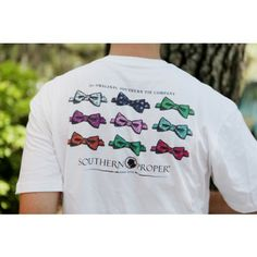 Southern Proper Bow Tie Tee by Southern Proper in small