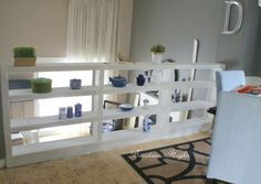 Bookcase railing