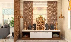 East Direction, Mandir Design, Pooja Mandir, Cnc Cutting Design, Pooja Room Door Design, Porch Area, Puja Room, Duplex House, Minimalist Home Interior