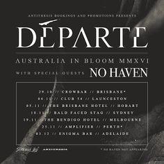HARD N' HEAVY NEWS: DÉPARTE - REVEALS NEW ALBUM'S TITLE, ARTWORK & RELEASE DATE